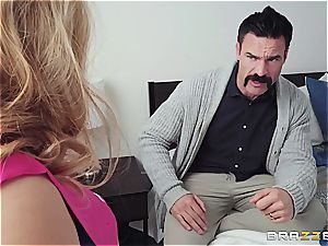 Stepdaughter Carolina lets dad take her purity