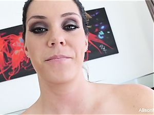 Interview with buxomy cutie Alison Tyler