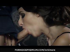 XCHIMERA - Amirah Adara snatch creampie in fetish boink