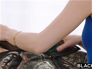BLACKED bbc takes turn on Riley Reid bulls eye