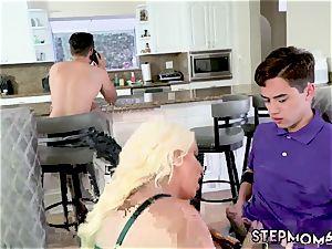 Family caught Step mom s new tear up fucktoy
