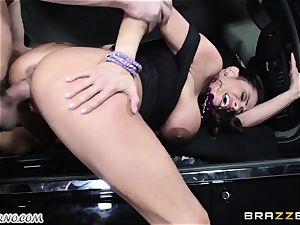 big-chested Ariella Ferrera - Drive on my boner