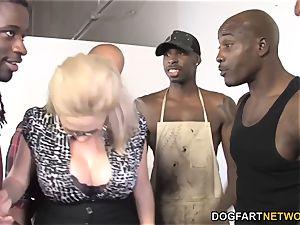 Katie Kox big black cock gangbang
