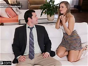 pulverize Confessions Britney Amber gets her bum tucked