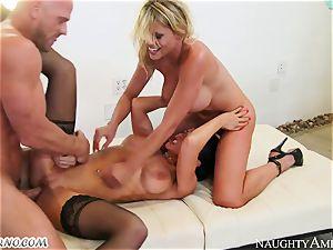 Charisma Cappelli, Romi Rain - hard fuck-a-thon milf 3some