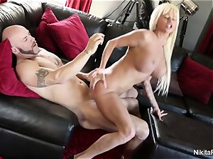 buxomy blondie sweetie Gets Deep trouser snake
