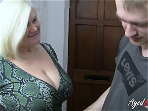 AgedLovE buxomy Mature Lacey Starr hardcore paramour
