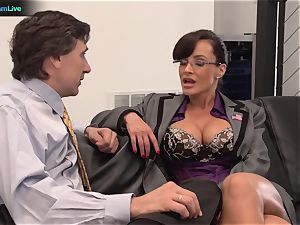 Lisa Ann xxx nail with her manager