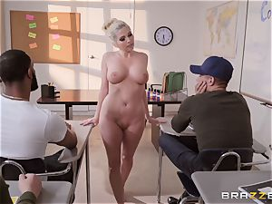 Christie Stevens bent over and pounded from the rear