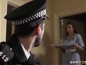 Nurse Connie Carter ravages her charge