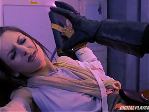 Stella Cox snatch hammered by a space agent