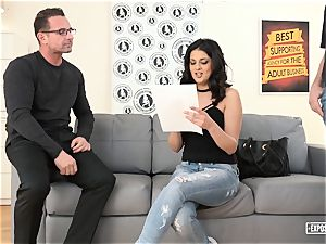 uncovered casting - dumping Serbian in super-steamy audition
