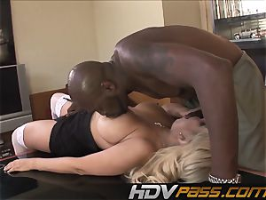 HDVPass interracial lovemaking with Bridgette B.