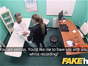 fake polyclinic Estate agent loves deep-throating and poking