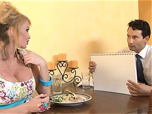cheating spouse watches Taylor Wane take a bbc
