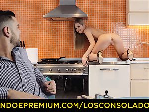 LOS CONSOLADORES - super-fucking-hot audition with Hungarian Sicilia