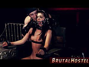 restrain bondage fuck-a-thon and extraordinary hefty fuckpole scanty lil Latina nubile Gina Valentina is truly not