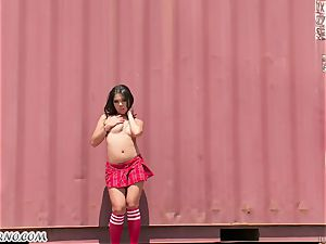 super-hot whorish japanese dolls Danica Dillan and Nadia Styles love white men's giant shaft