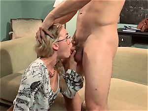 Keira Nicole romps her half bare housemate