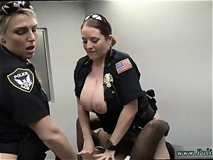 sumptuous light-haired mummy ass-fuck first-ever time cougar Cops