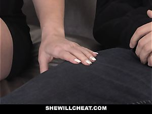 SheWillCheat warm wife Cheats with hubbies playmate